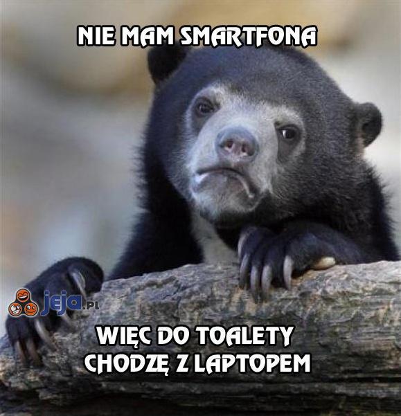 Nie mam smartfona
