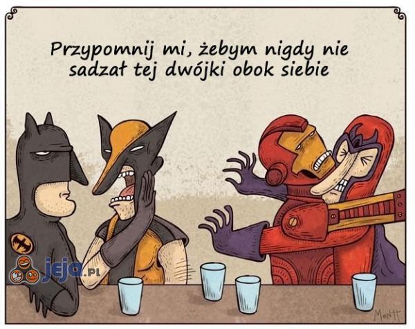 Wtopa na spotkaniu superbohaterów
