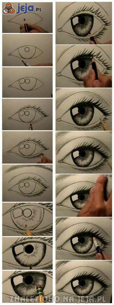 Jak rysować oko