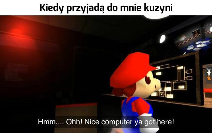 Nie, nie mam żadnych gier...
