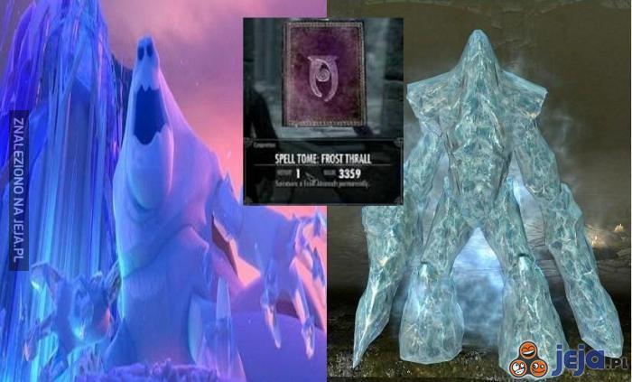Kraina lodu vs. Skyrim