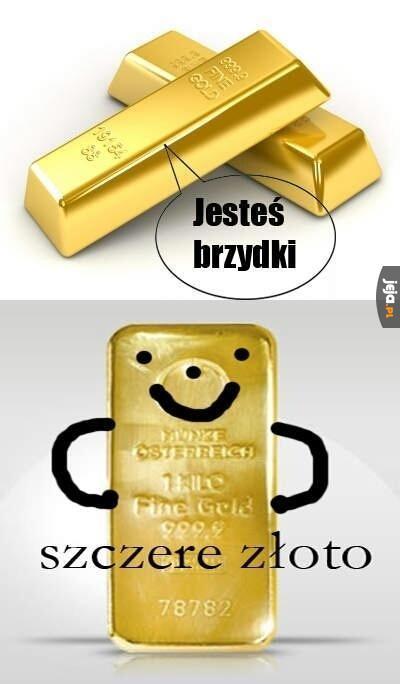 Szczere złoto