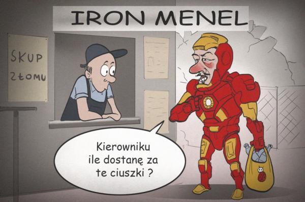 Iron menel