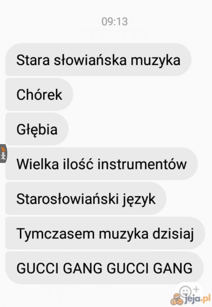 No i ten słowiański klimat bębnów