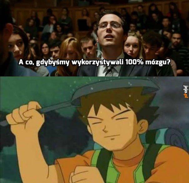 Brock dawno już to ogarnął