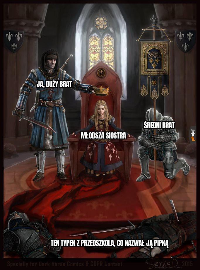 Twój honor uratowany, księżniczko