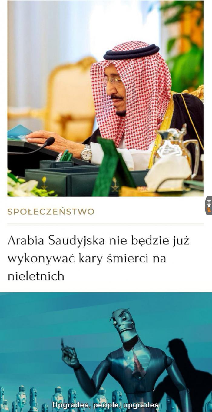 To się nazywa postęp, nie to co w Polsce