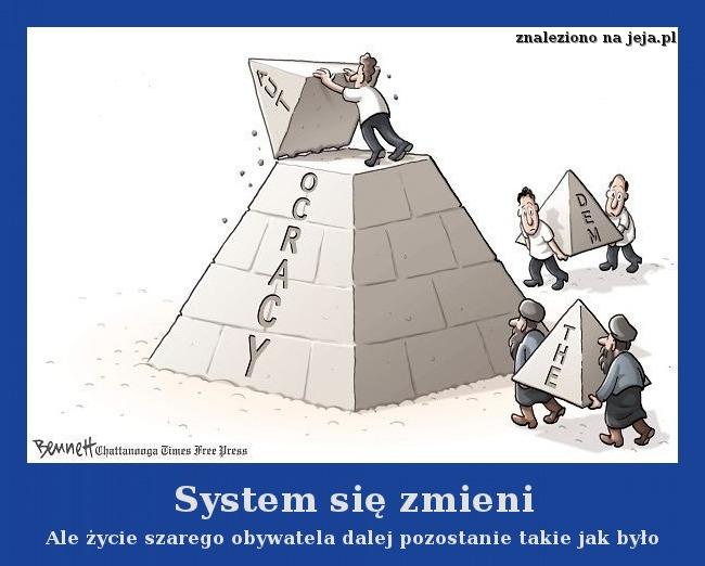 System się zmieni