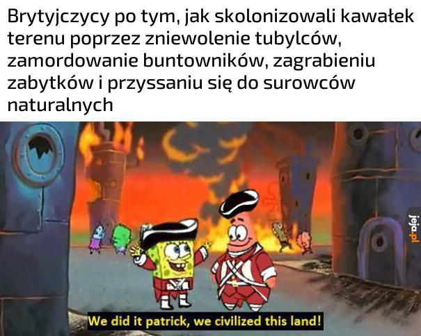 Jej, kolonizacja!