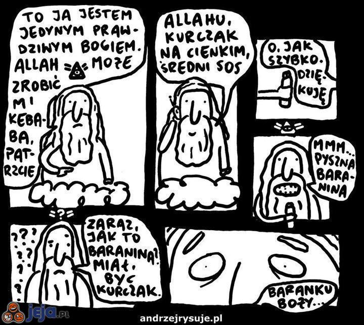 Bóg vs Allah