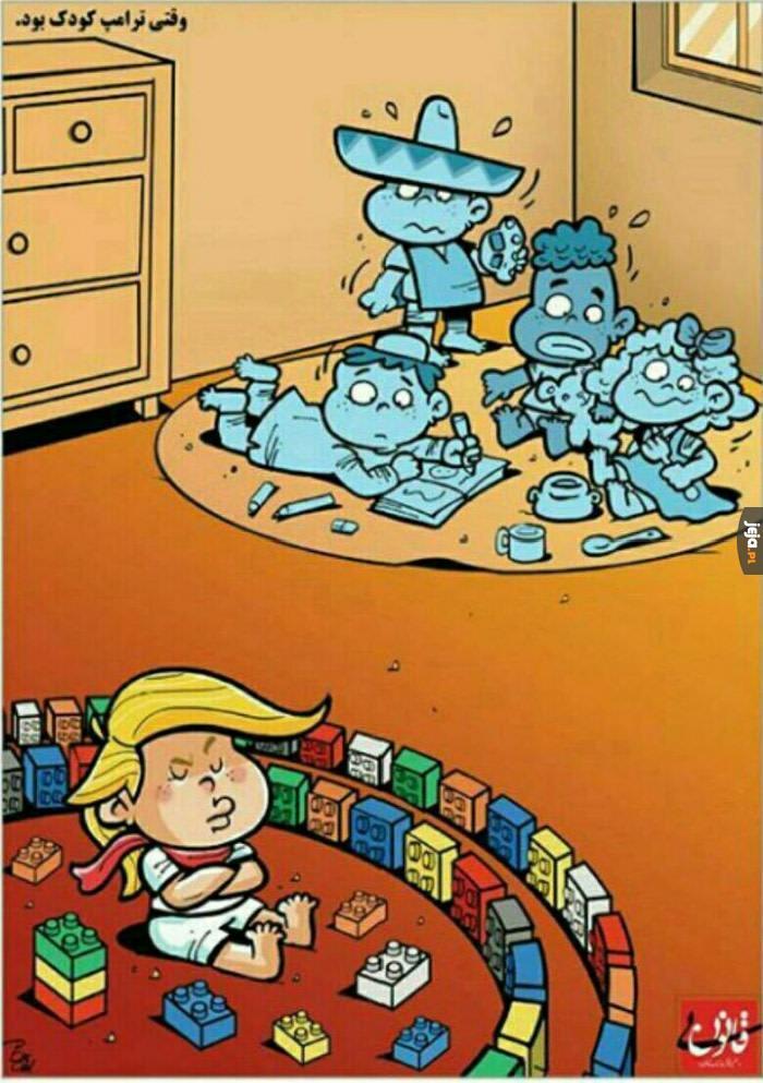 Trump w dzieciństwie