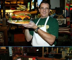 Wielki cheeseburger