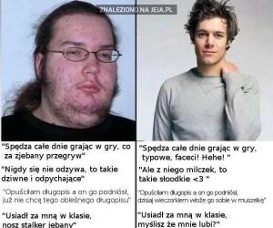 O facetach - podwójne standardy