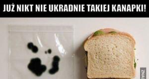 Twoja kanapka będzie teraz bezpieczna