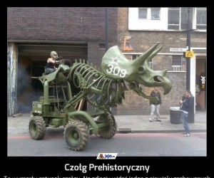 Czołg Prehistoryczny
