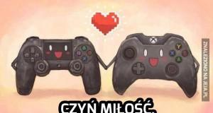 Czyń miłość, nie wojny konsol