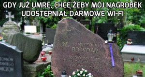 Gdy już umrę...