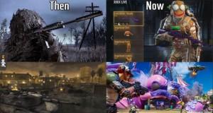 Call of Duty kiedyś i dziś
