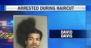 Aresztowany u fryzjera