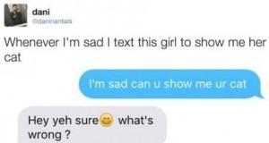 Zawsze gdy jest mi smutno...