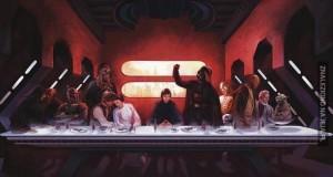Ostatnia Wieczerza - wersja: Star Wars