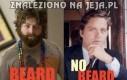 Zach Galifianakis - z brodą i bez brody