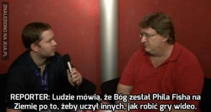 Bóg zesłał Phila Fisha po to...