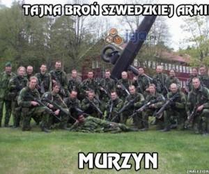 Sekretna broń szwedzkiej armii