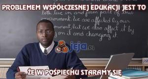Problem współczesnej edukacji