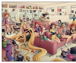 Księżniczki Disneya za kulisami