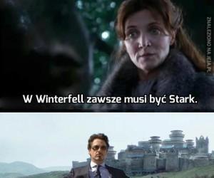 W Winterfell zawsze musi być Stark