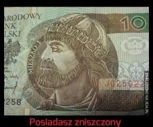 Połowa banknotu