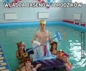Władca basenów i brodzików