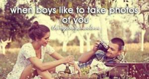 Gdy chłopcy lubią robić zdjęcia