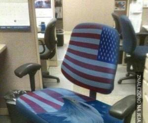 Amerykański fotel XXL
