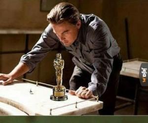 Tymczasem w domu DiCaprio...