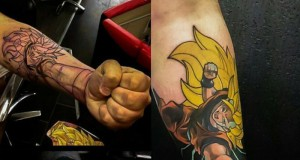 Imponujący tatuaż