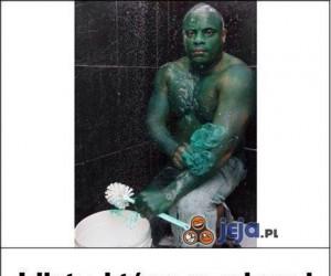Pamiętacie niezmywalnego Hulka?
