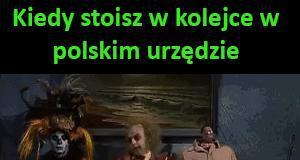 Kolejka w polskim urzędzie