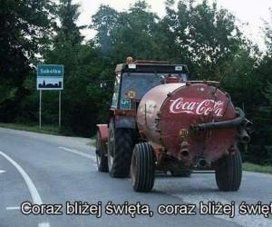Coca-Cola zainwestowała w nową ciężarówkę