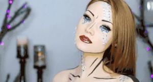 Komiksowy makijaż