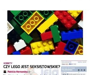 Lego tylko dla chłopców?