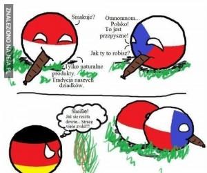 Europejskie kiełbaski