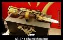 Ak-47 z piłą mechaniczną