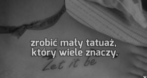 Znaczący tatuaż