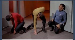 Star Trek i rockowe pozy