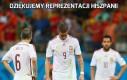 Dziękujemy reprezentacji Hiszpanii