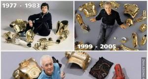 C-3PO na przestrzeni lat