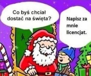 Życzenia do Mikołaja