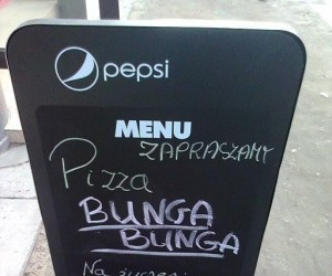 Pizza Bunga Bunga!